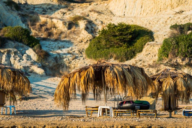 Spiaggia di Gerakas, Zacinto immagine stock
