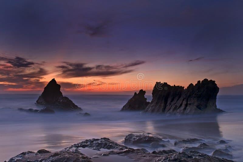 Spiaggia di Guincho immagini stock libere da diritti