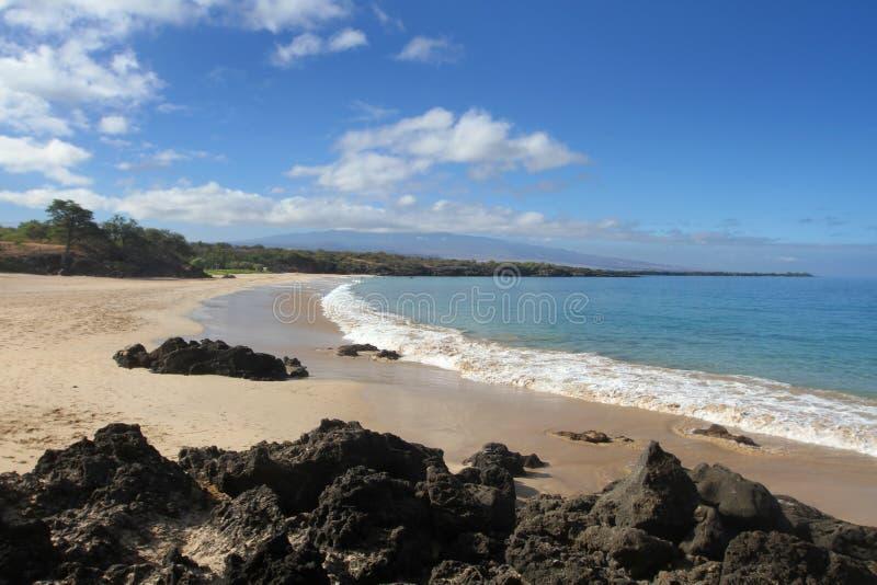 Spiaggia di Hapuna immagine stock libera da diritti