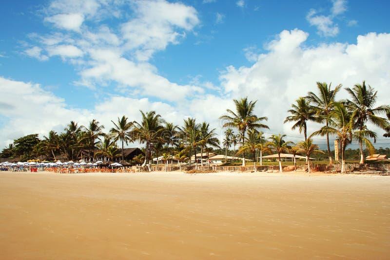 Spiaggia di Ilheus fotografia stock