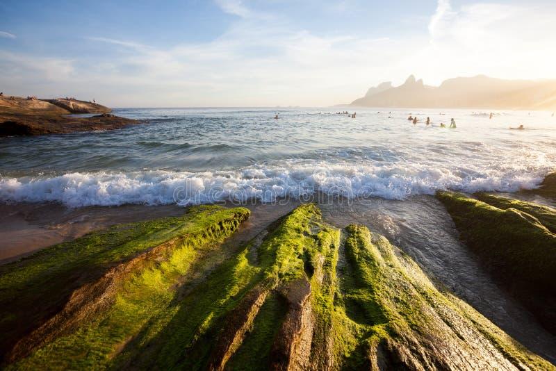 Spiaggia di Ipanema immagine stock libera da diritti