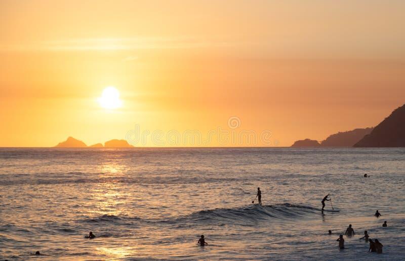 Spiaggia di Ipanema immagini stock libere da diritti