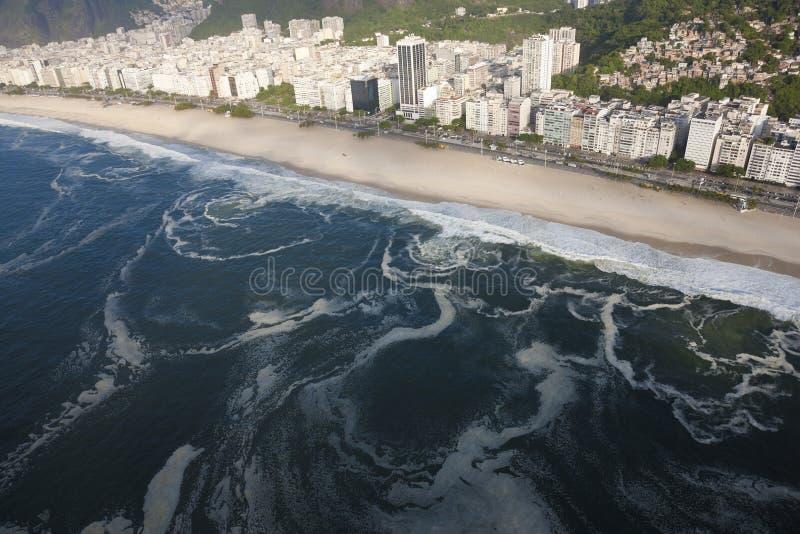 Spiaggia di Ipanema, Rio de Janeiro fotografie stock libere da diritti
