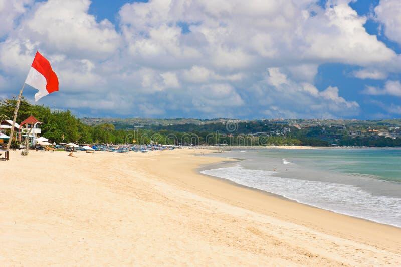 Spiaggia di Jimbaran immagine stock