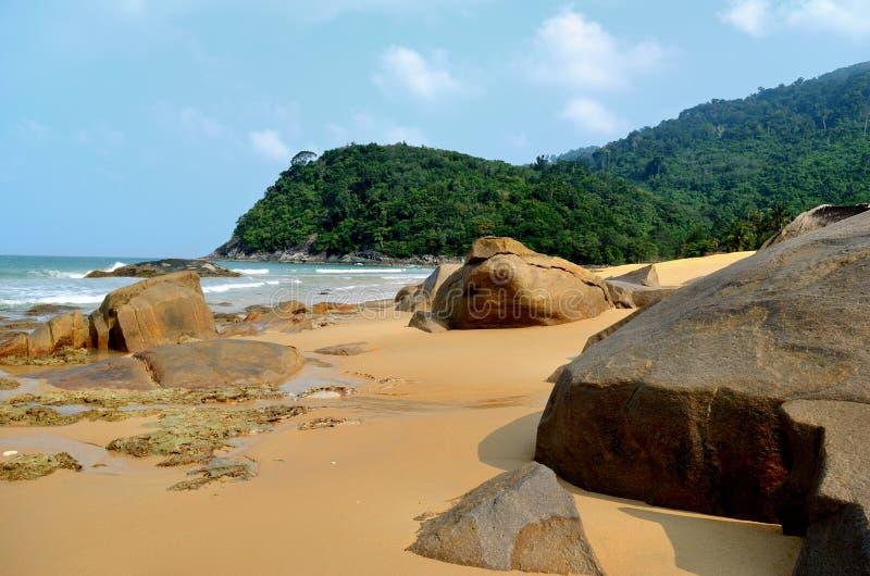 Spiaggia di Juara fotografie stock