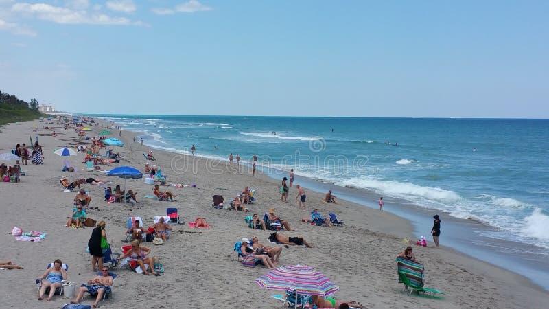 Spiaggia di Juno fotografie stock