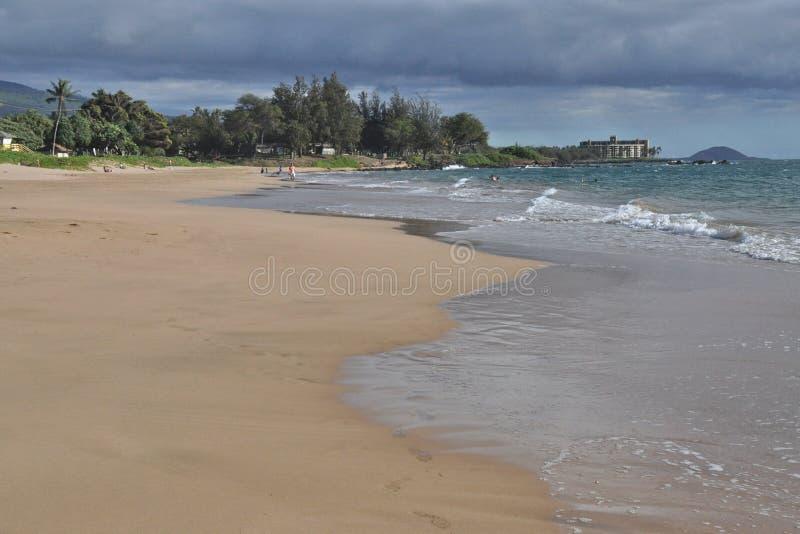 Spiaggia di Kamaole II fotografia stock