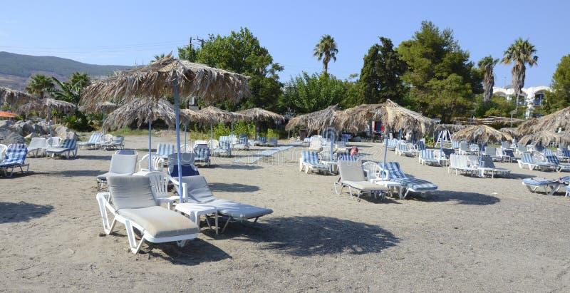 Spiaggia di Kefalos, Kos, Grecia fotografia stock