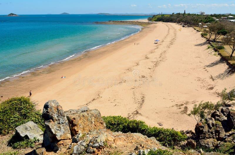 Spiaggia di Lamberts in Mackay, Australia immagine stock libera da diritti