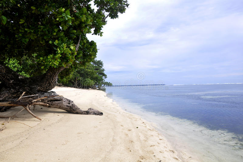 Spiaggia di Lampung immagini stock