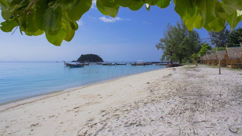 Spiaggia di Lipe del KOH fotografie stock libere da diritti