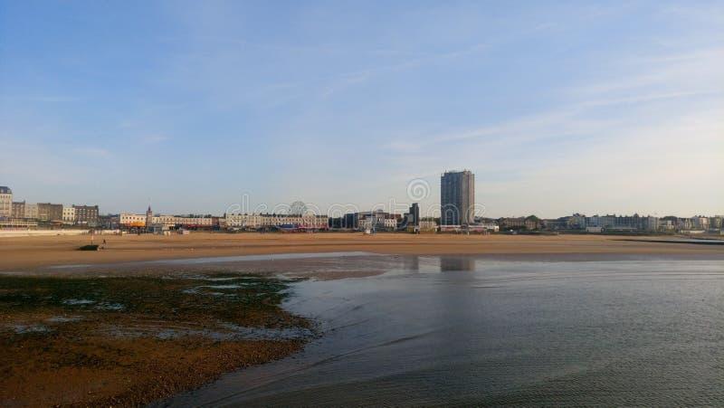 Spiaggia di Margate fotografia stock