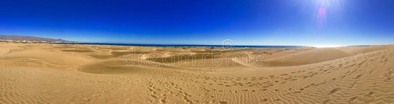 Spiaggia di Maspalomas fotografie stock libere da diritti