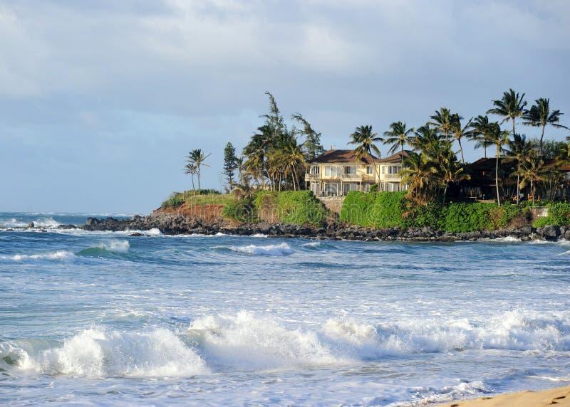 Spiaggia di Maui, Hawai immagini stock libere da diritti
