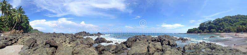 Spiaggia di Montezuma in Costa Rica immagine stock