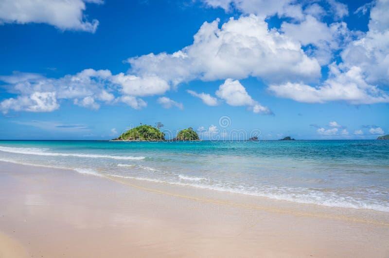 Spiaggia di Nacpan fotografia stock