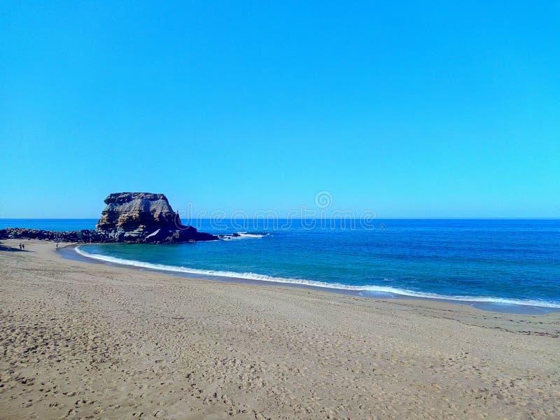 Spiaggia di Oporto Novo immagini stock