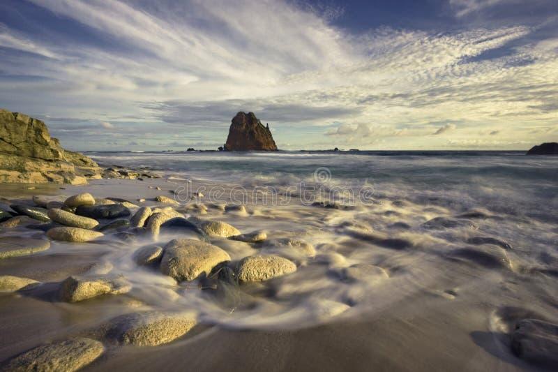 Spiaggia di Papuma fotografie stock libere da diritti