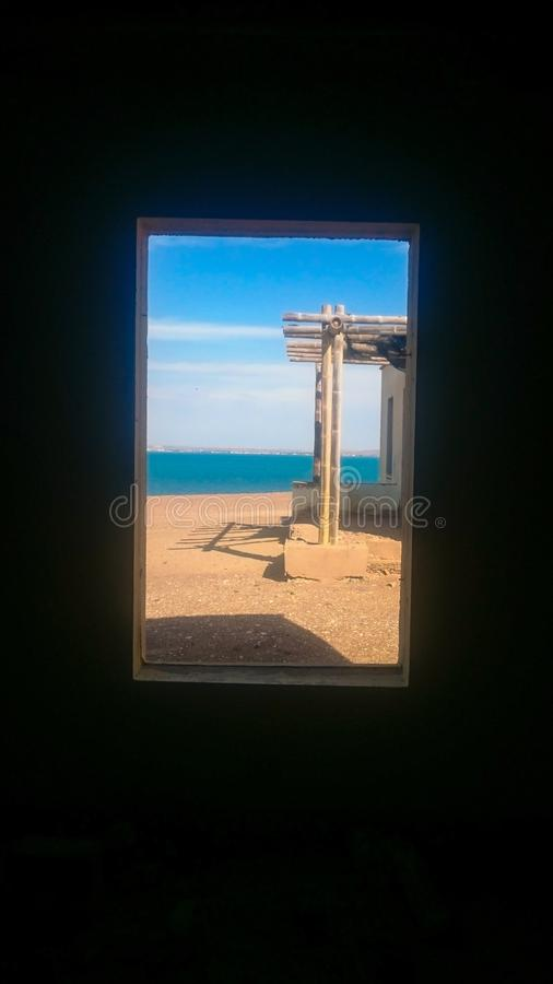 Spiaggia 1 di Paracas Perú immagini stock