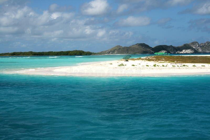 Spiaggia di paradiso immagine stock