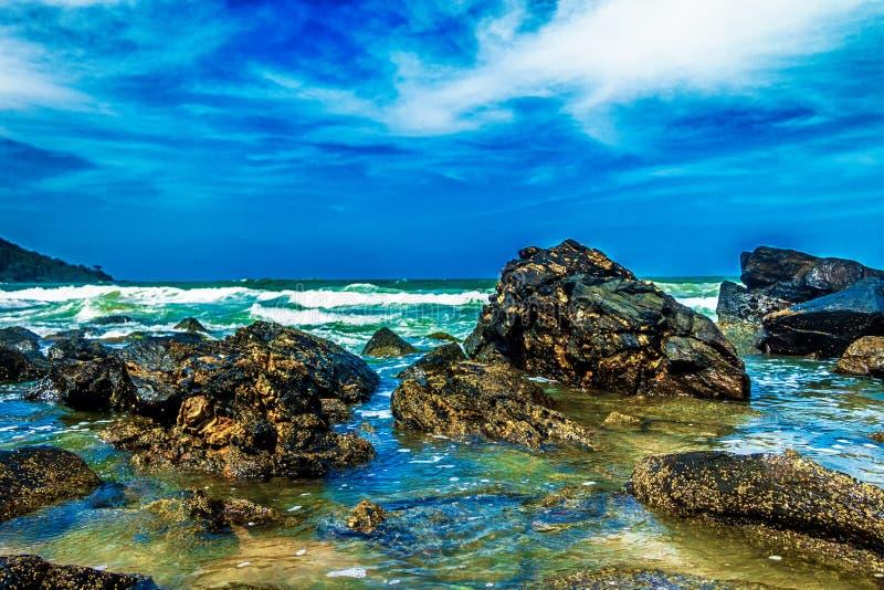 Spiaggia di paradiso di Buraco fotografia stock