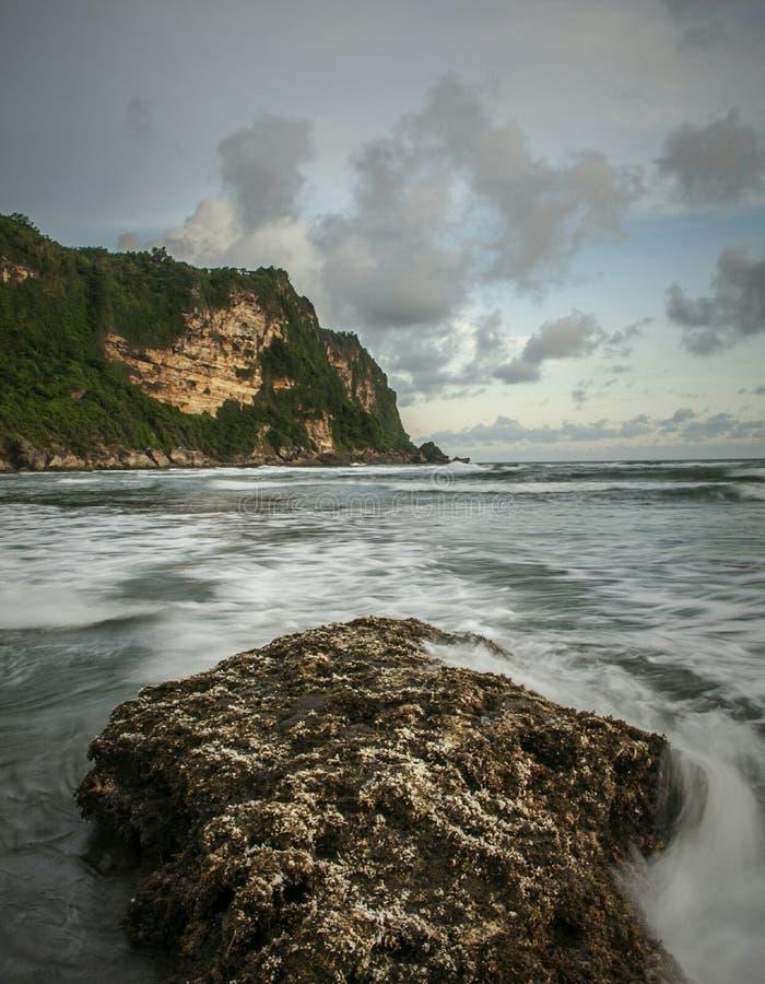 Spiaggia di Parangtritis fotografia stock