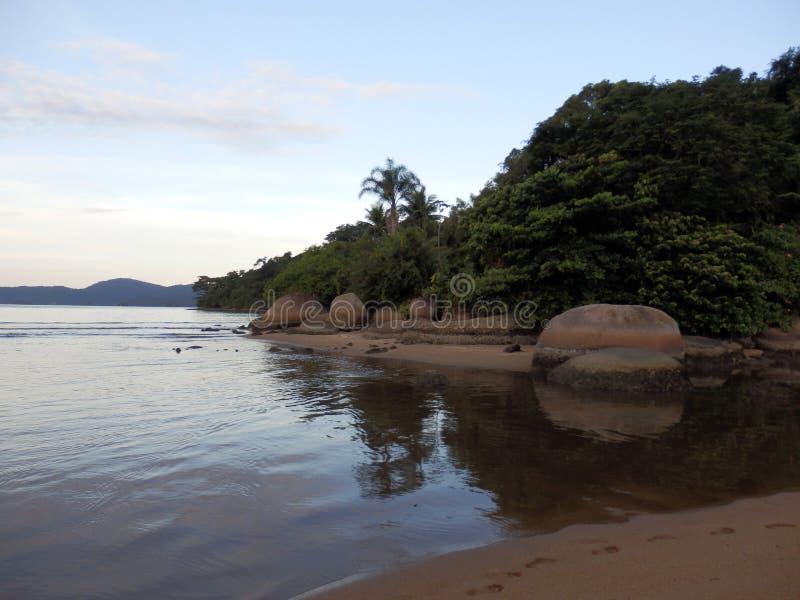 Spiaggia di Paraty in Rio de Janeiro State fotografia stock