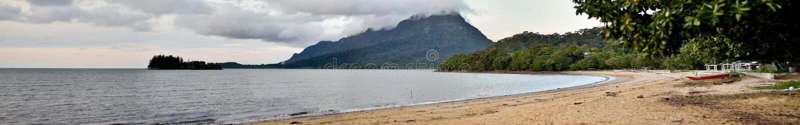 Spiaggia di Pasir Pandak immagine stock