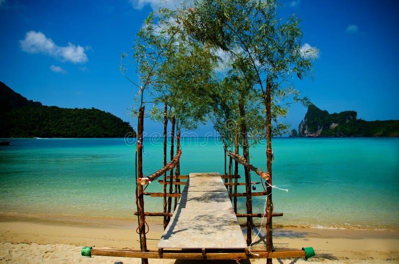 Spiaggia di phiphi del KOH immagini stock libere da diritti
