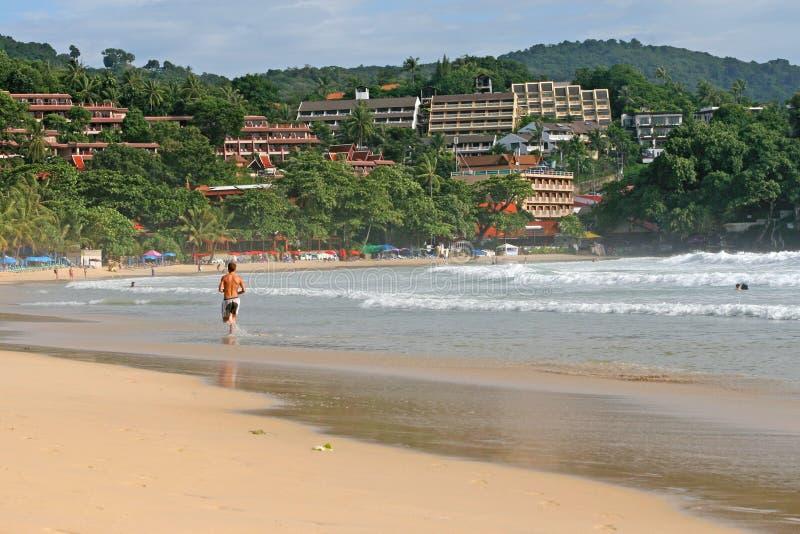 Spiaggia di Phuket immagine stock