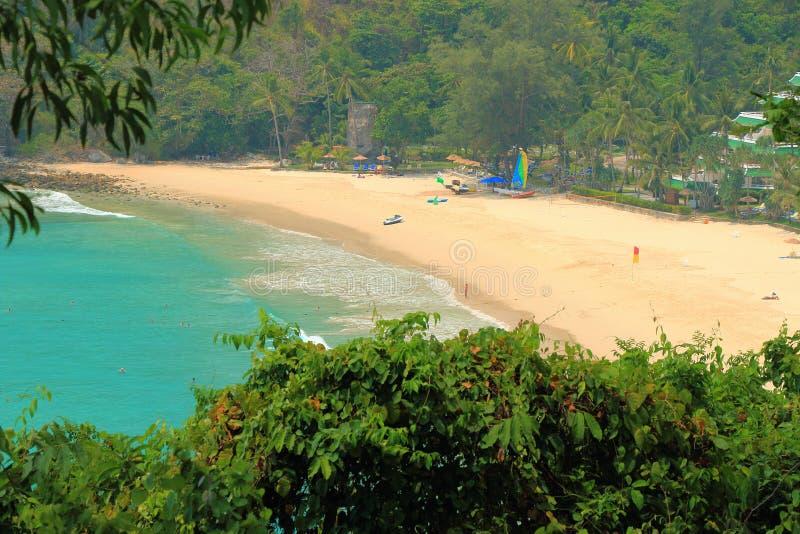 Spiaggia di Phuket fotografia stock