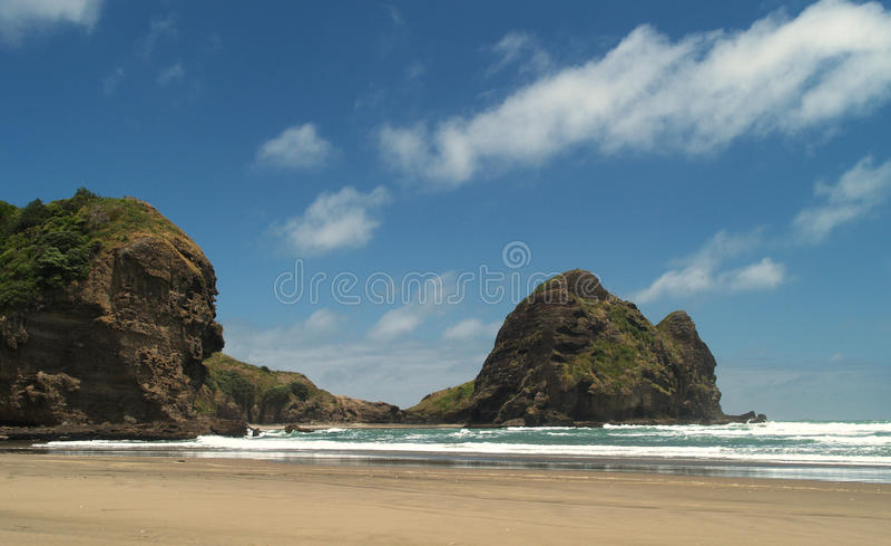 Spiaggia di Piha fotografie stock