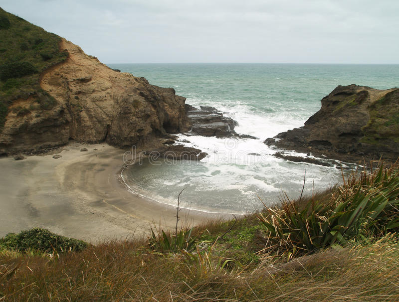 Spiaggia di Piha immagini stock libere da diritti