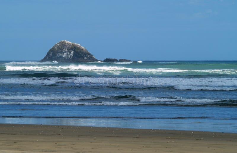 Spiaggia di Piha fotografia stock libera da diritti