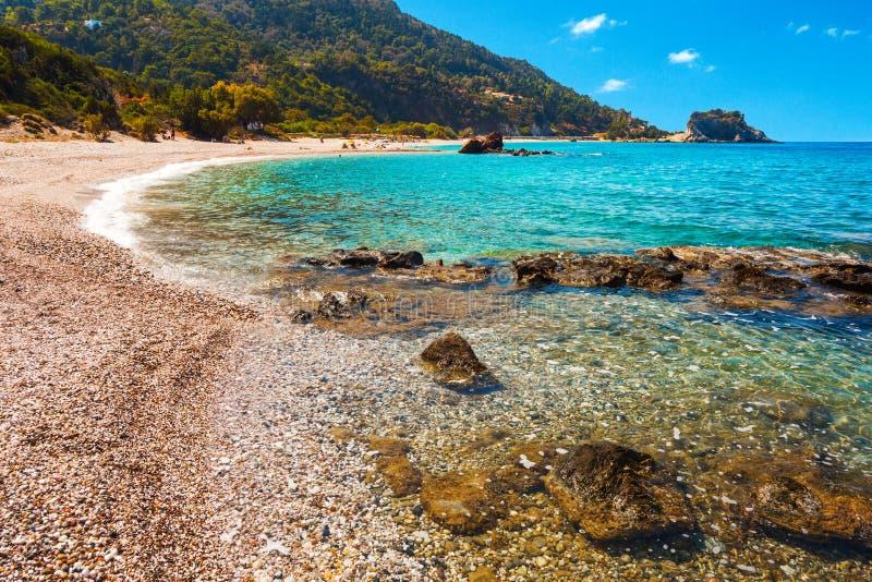 Spiaggia di Potami fotografie stock