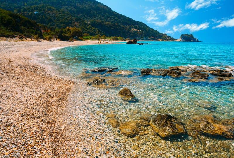 Spiaggia di Potami fotografia stock