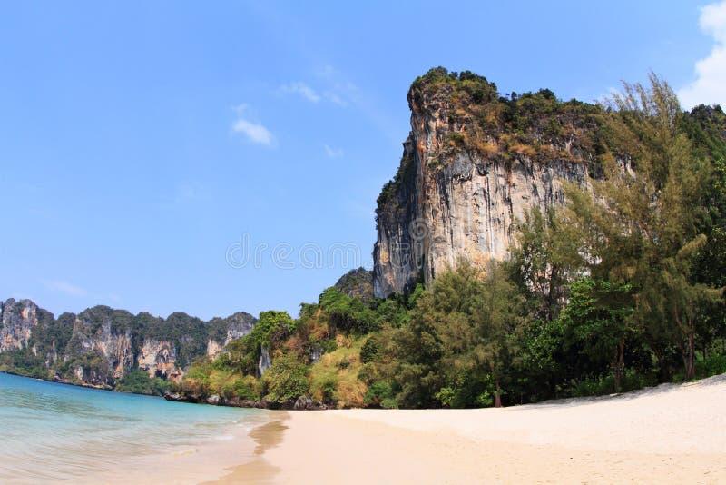 Spiaggia di Railay fotografia stock libera da diritti