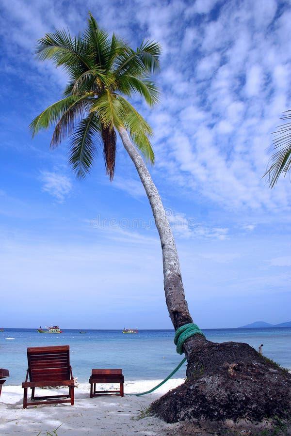 Spiaggia di Redang Lang Tengah immagini stock