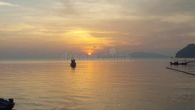 Spiaggia di ree di sai del cappello nel chumporn thailand3 da S6 fotografie stock libere da diritti