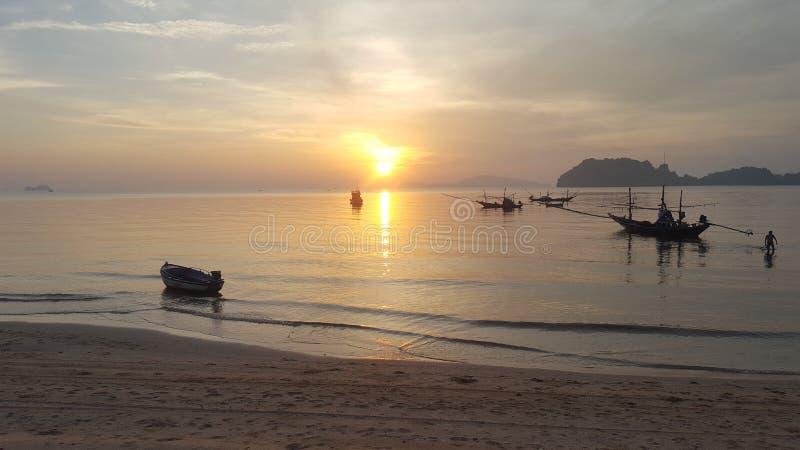 Spiaggia di ree di sai del cappello nel chumporn thailand3 da S6 immagine stock
