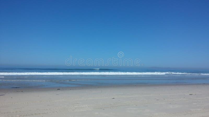 Spiaggia di Rosarito immagine stock libera da diritti