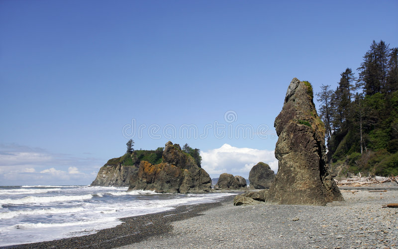 Spiaggia di Rubi immagine stock libera da diritti