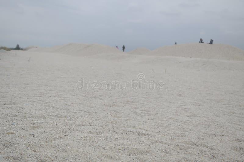 Spiaggia di sabbia fotografie stock libere da diritti