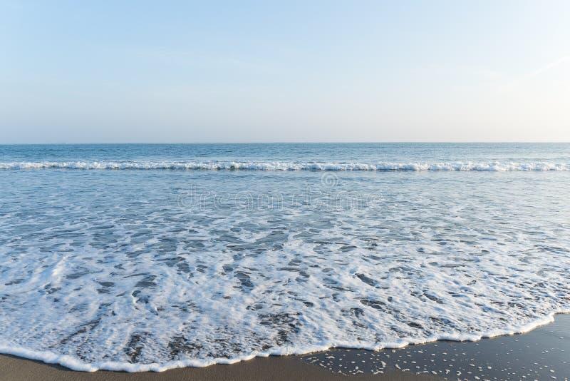 Spiaggia di sabbia fotografia stock