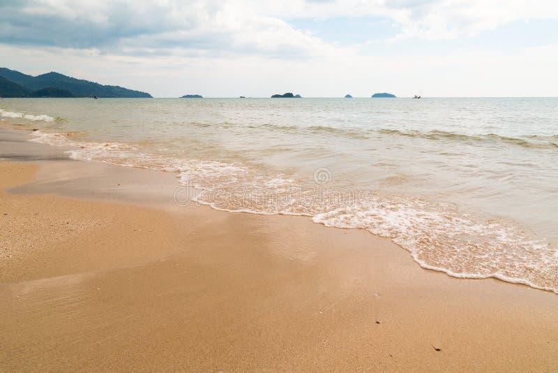 Spiaggia di sabbia Asia immagini stock