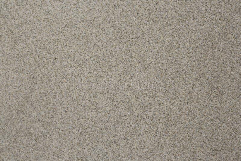 Spiaggia di sabbia di Brown fotografia stock