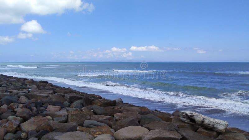 Spiaggia di Seseh fotografia stock