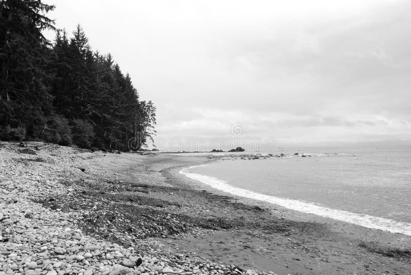 Spiaggia di Sombrio, BC fotografia stock