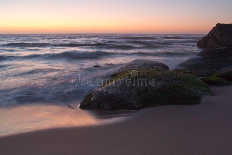 Spiaggia di Tamarama, Sydney, Australia immagini stock libere da diritti