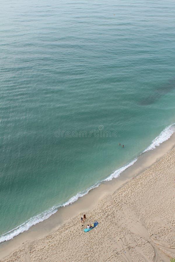 Spiaggia di Tropea immagini stock libere da diritti